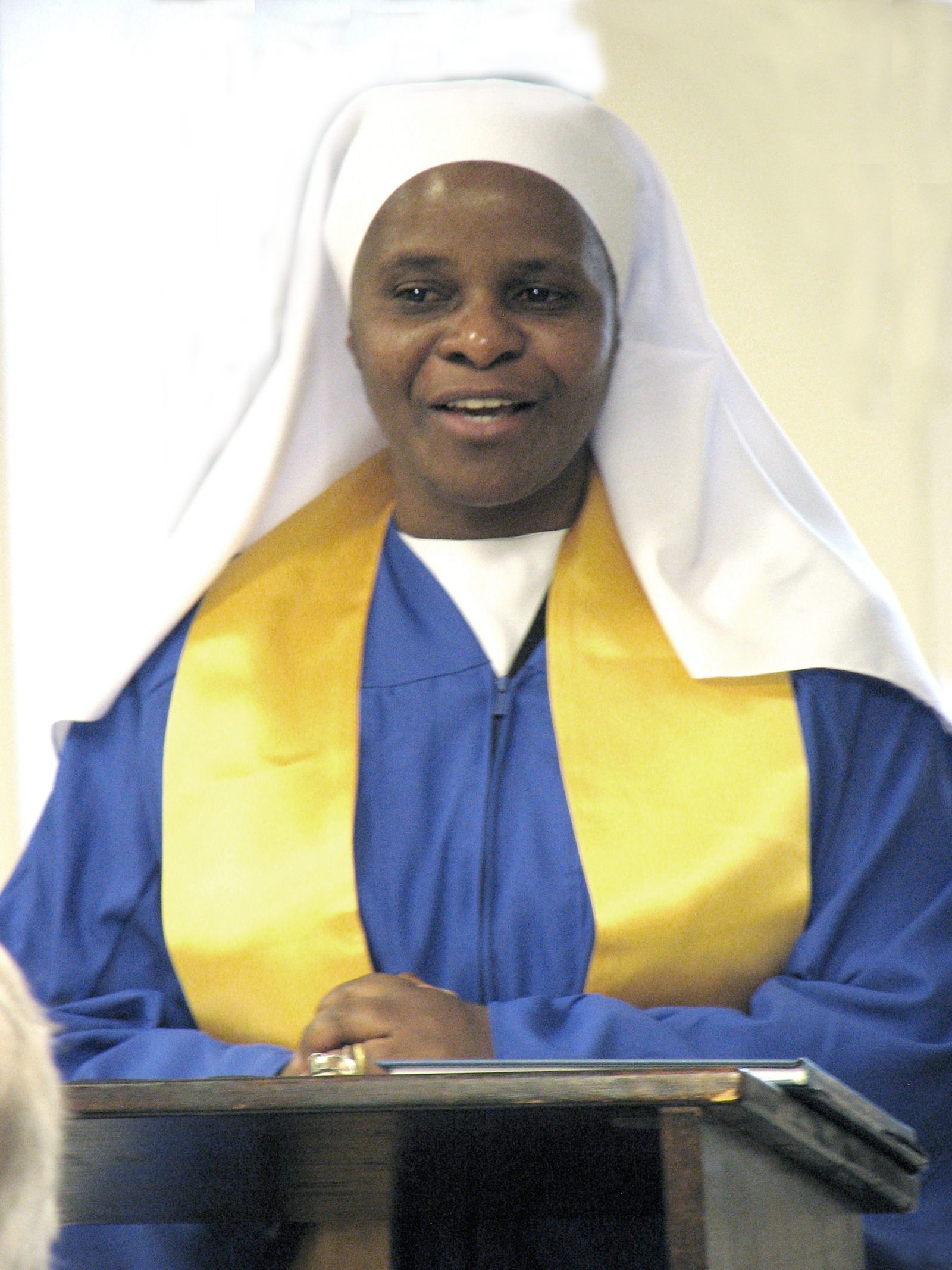 After Sister Gaudensia Mwanyika graduated from college, she returned home to Tanzania and built a school for children north of Dar es Salaam.